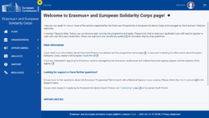 Erasmus+ Platform